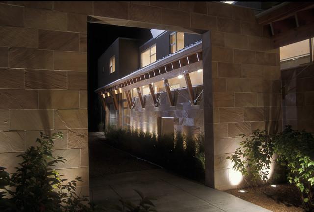 Mountain View Residence contemporary-exterior