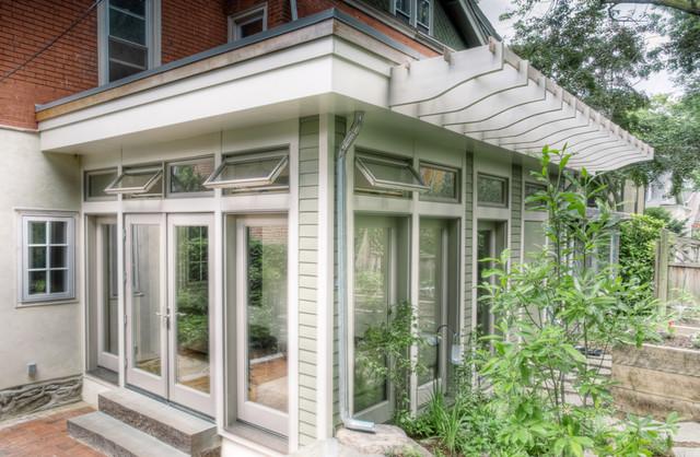 Mt. Airy sunroom traditional-exterior