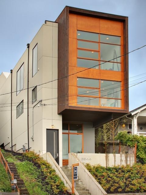 Mt. Baker Residence contemporary-exterior