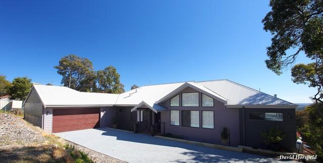 Minum cove concept home perth wa contemporary exterior perth - Mt Richon Residence Contemporary Exterior Perth By