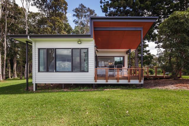 Mt Tamborine Project Contemporary-exterior