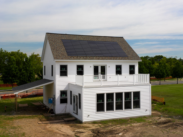 Multi-Comfort Home: GridSTAR Energy Demonstration Structure traditional-exterior