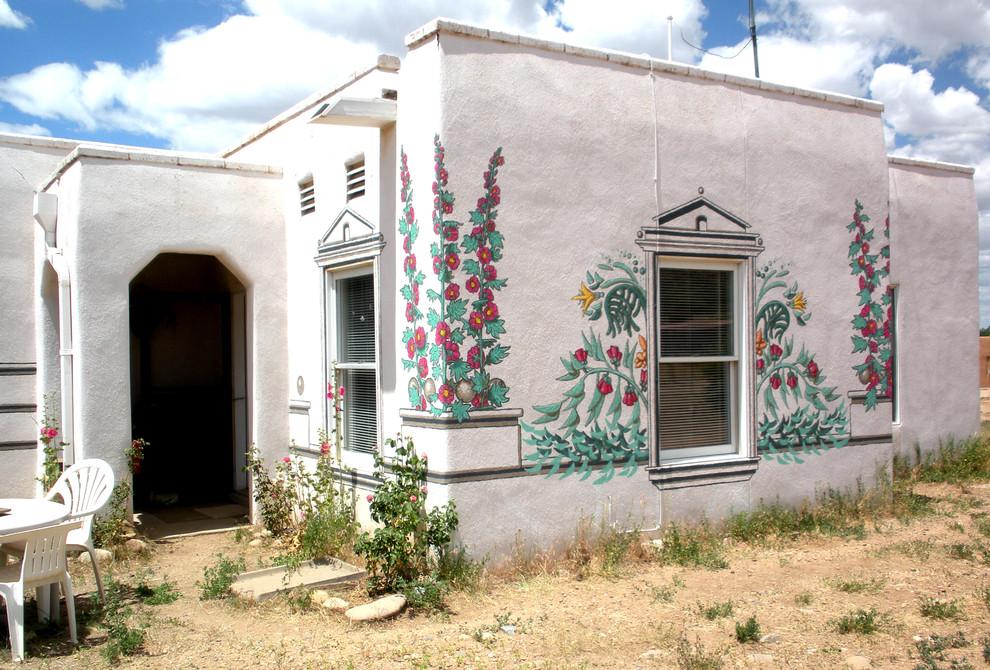 Mural on Stucco Wall 9' x28'