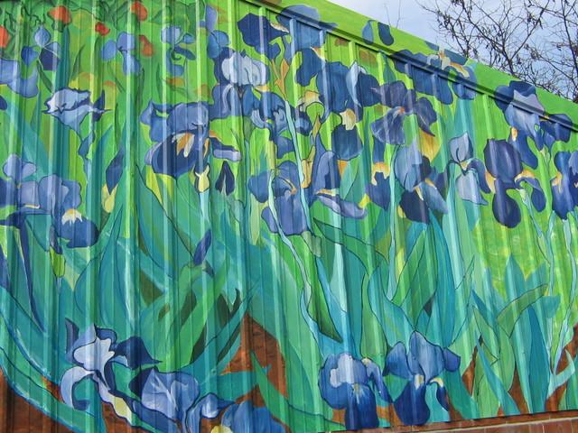 Murals eclectic-exterior
