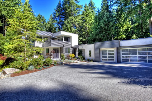 Advanced Building Consultants : Murstein house modern exterior seattle by advanced