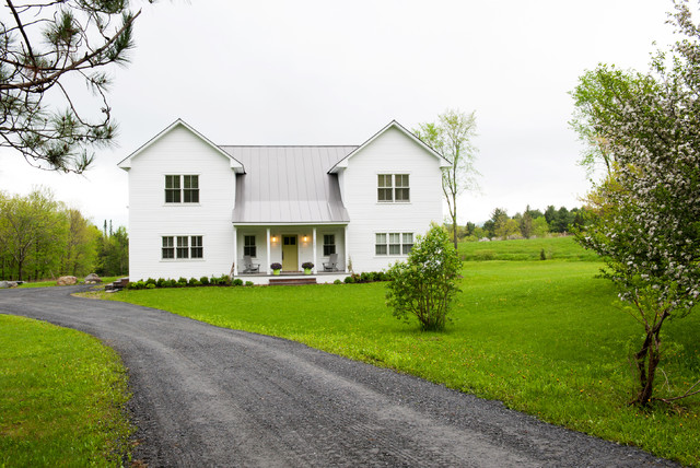 My Houzz Fabulous Prefab With Mt Views Farmhouse