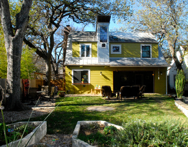 My Houzz: An Art-Filled Austin Home Has Something to Add contemporary-exterior