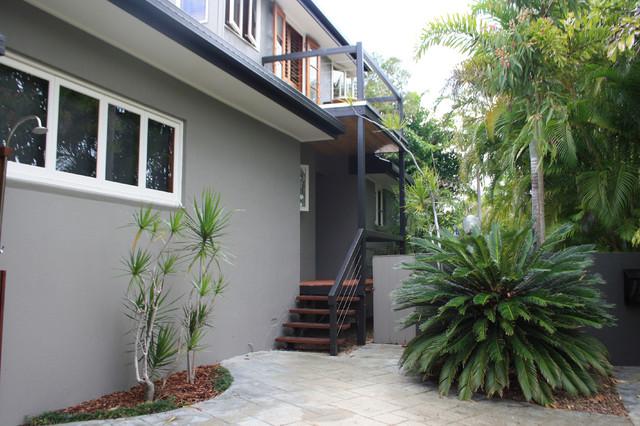 My houzz beach meets bush in a caribbean inspired noosa home
