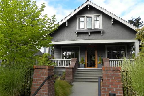 Debbie evans interior design consultant west vancouver for Craftsman corbels exterior