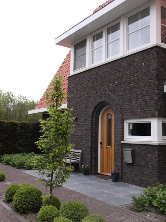 Stained Brick Home Design Ideas Pictures Remodel And Decor