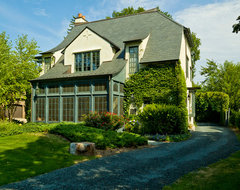 Simplifying in the Suburbs traditional exterior