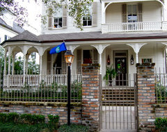 My Houzz: Colorful eclectic style in a traditional New Orleans home traditional-exterior