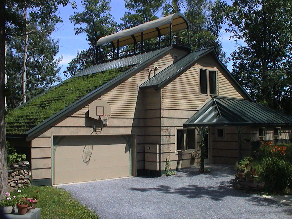 My Houzz Joyful Earth Conscious Home In Vermont Contemporary Exterior Burlington By