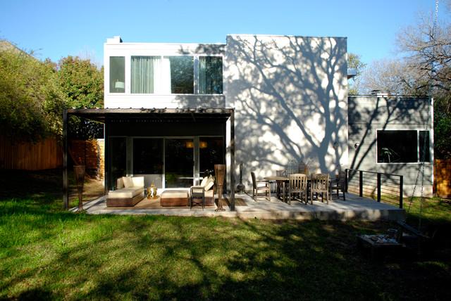 contemporary exterior by Kara Mosher