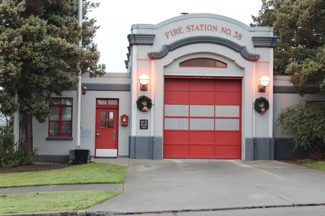 Renovated Firehouse - Industrial - Exterior - Seattle - by Kimberley on fler designs, cinderella designs, atheist designs, pride designs, 3 bay fire station designs, lunch wagon designs, alice cooper designs, firebrand designs, metallica designs, rural fire station designs, 2 story fire station designs, poison designs, fire station floor plans and designs, fire department designs, we are one designs, super power designs, small fire station designs, new fire station designs, maroon 5 designs, tuff designs,