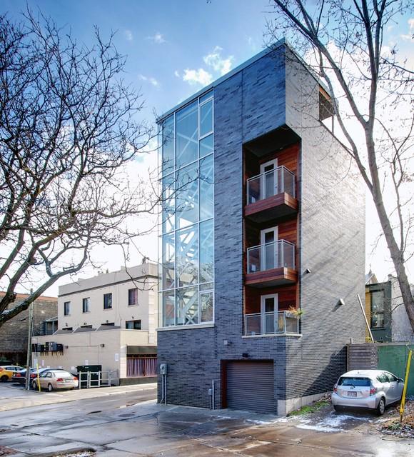My Houzz Urban Tower Industrial Exterior Toronto