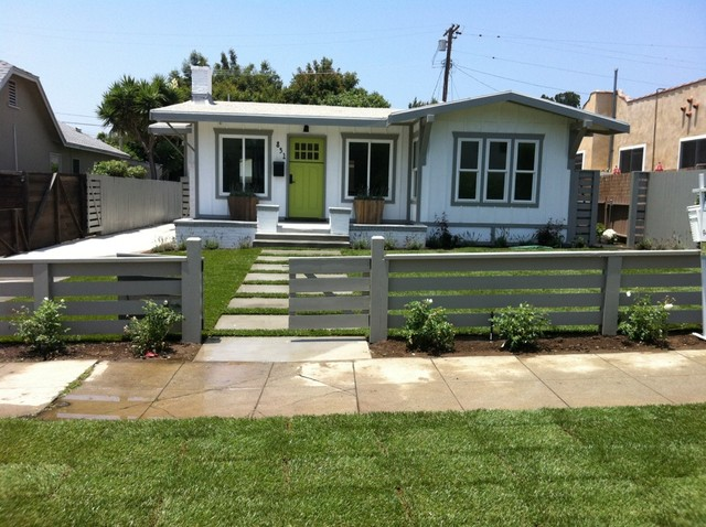 N. Vista - A California Bungalow - Contemporary - Exterior ...