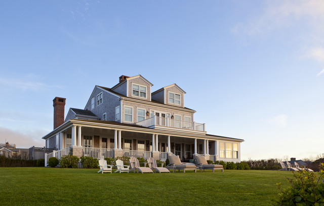 Nantucket Cliffs traditional exterior