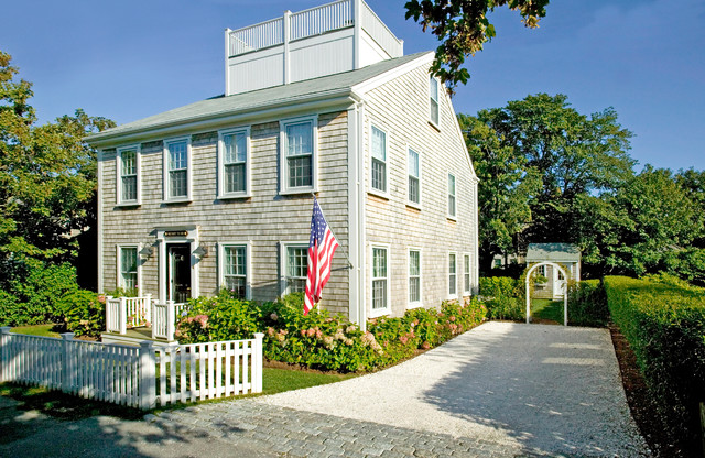 Nantucket ma traditional exterior other by beach for Beach glass interior designs