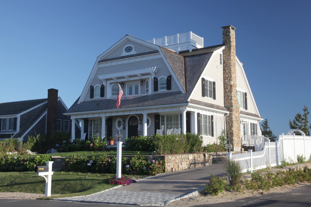 Nantucket Sound Gambrel Beach Style Exterior Boston