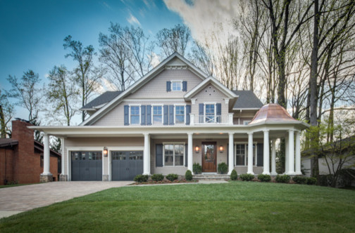 Nantucket style custom home traditional exterior dc for Nantucket style house