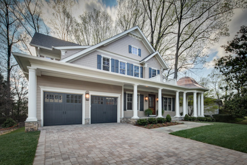 nantucket style custom home traditional exterior - Nantucket Style House