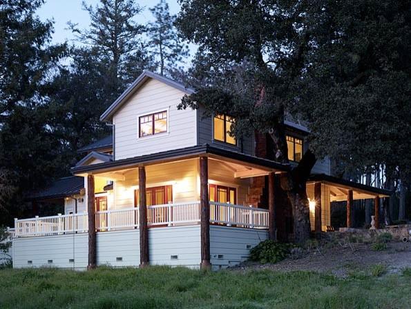 Napa County Farmhouse Remodel farmhouse-exterior