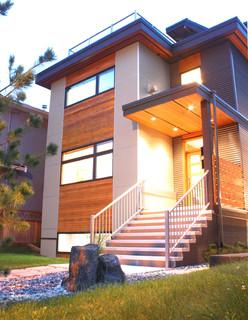 Passive Narrow House - Vancouver, BC