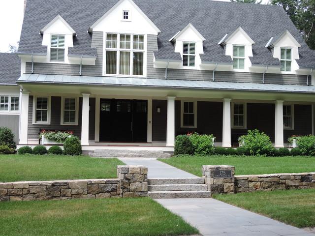Nashawtuc Residence traditional-exterior