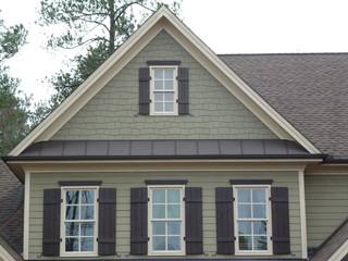 Natural Stone Shake Shutters Metal Roofing Craftsman
