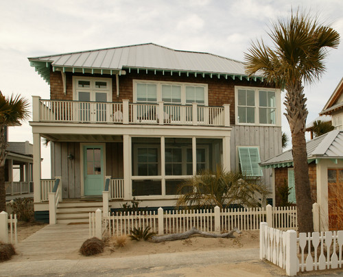 Nc beach house plans home design and style for Traditional beach house designs