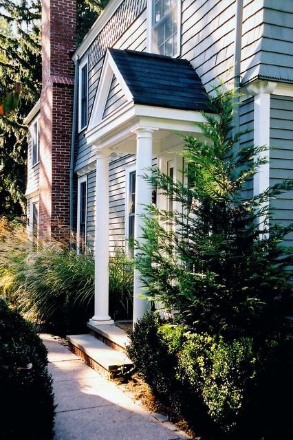 needham residence - rear entry - dpjb.01 traditional-exterior