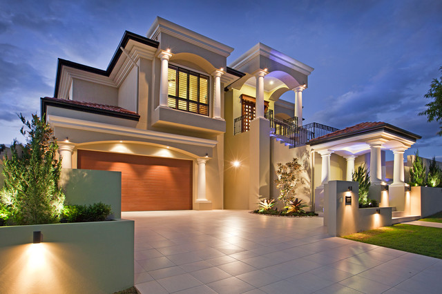 Nelson Pl Mediterranean Exterior Brisbane By Imperial Homes Qld Pty Ltd