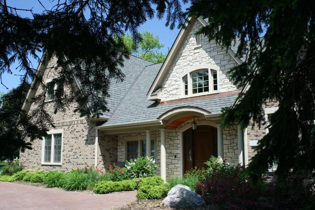 neo tudor style house