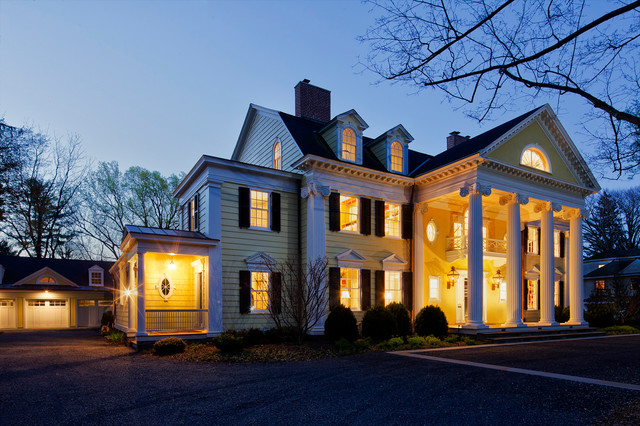 Neoclassical Home traditional-exterior