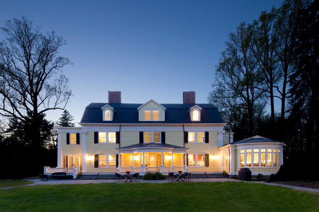 Neoclassical Home Traditional Exterior New York By