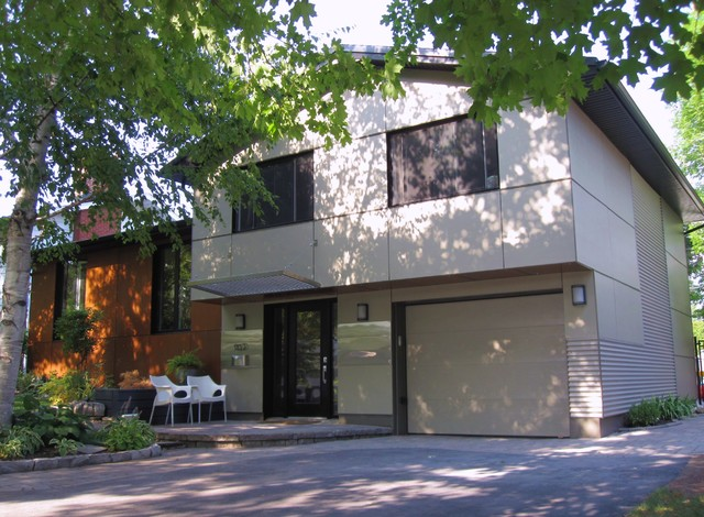 Nepean exterior modern exterior ottawa by 7j for Exterior by design ottawa