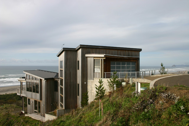 Neskowin Beach House Contemporary Exterior Portland