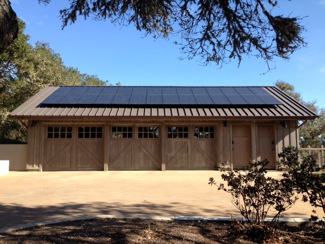 Net zero energy 1000 square foot barn style garage with pv for 1000 sq ft garage