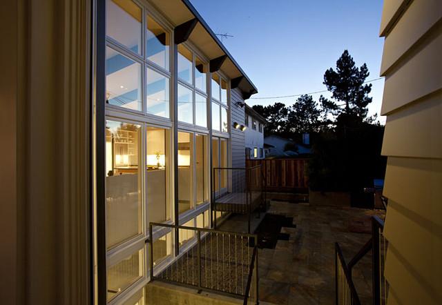 Net-Zero Energy Home modern-exterior