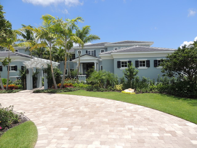 New British West Indies Style Renovation Traditional Exterior
