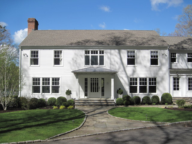 NEW CANAAN COLONIAL traditional-exterior