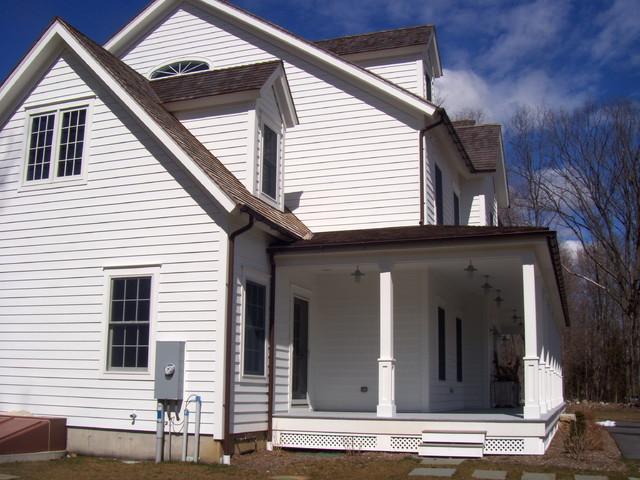 New Canaan, CT farmhouse - exterior farmhouse-exterior