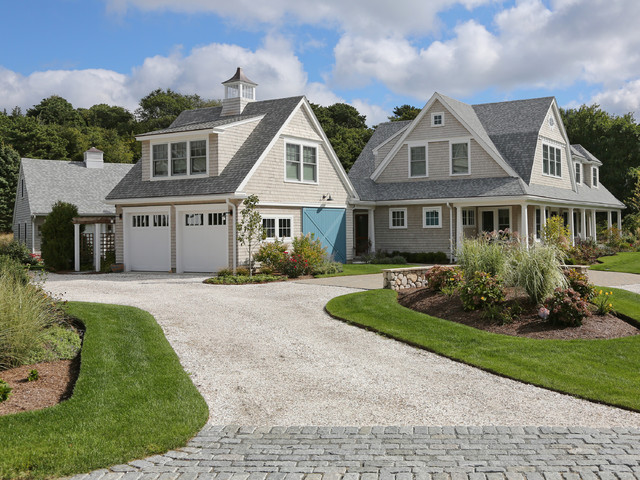 New cape cod home farmhouse exterior boston by for Cape cod dormers