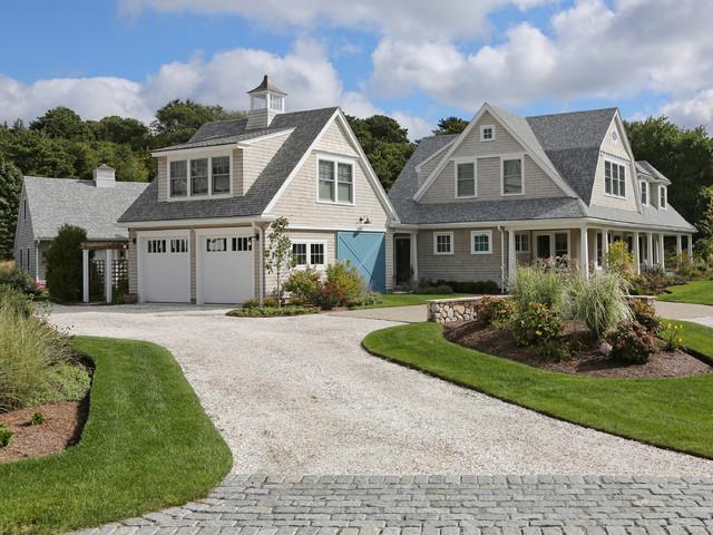 New cape cod home farmhouse exterior boston by for Cape cod house exterior design