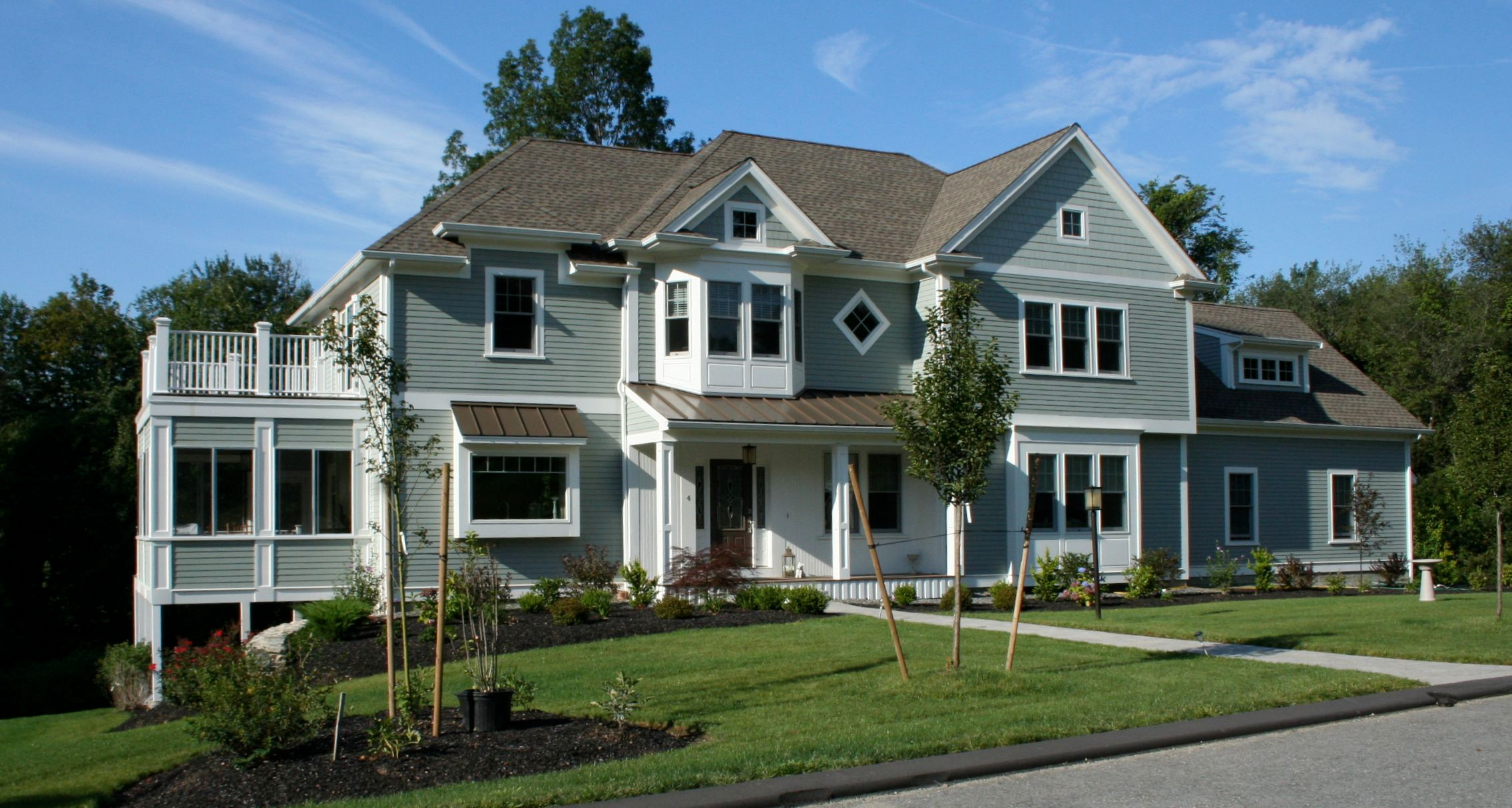 New Colonial With Authentic Charm