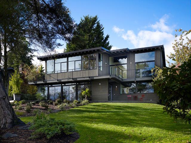 New Construction contemporary-exterior