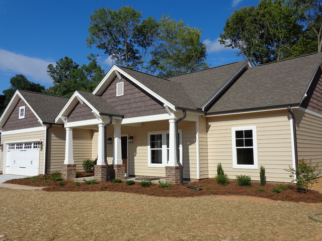 New Construction Craftsman Bungalow Traditional