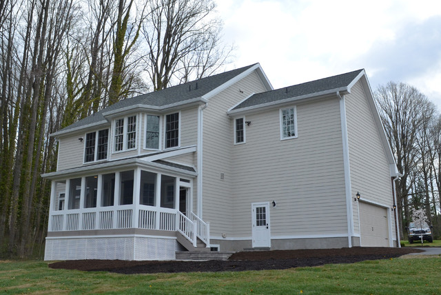 New Construction In Delaware Exterior Traditional Exterior Wilmington By Lqdesign Studio