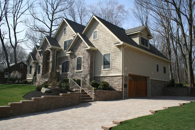 New Construction In Edison Nj Traditional Exterior